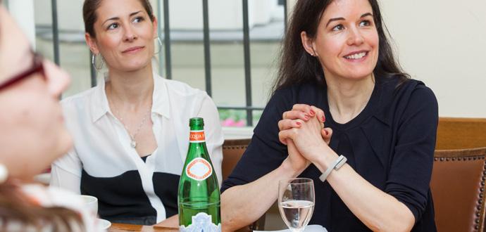 Esther Eisenhardt beim Meerup-Treffen