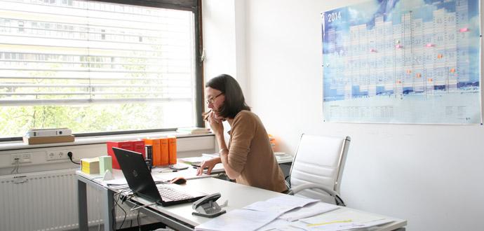 Susanne Außendahls Office