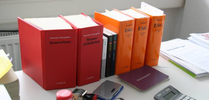 Susanne Außendahls Schreibtisch