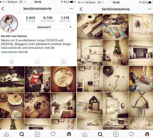Benutze auf Instagram Filter
