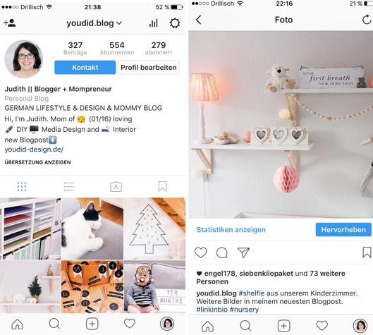 Link im Instagram Profil setzen
