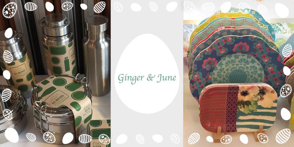 Osterüberraschung von Ginger & June bei der MomPreneurs Ostereiersuche