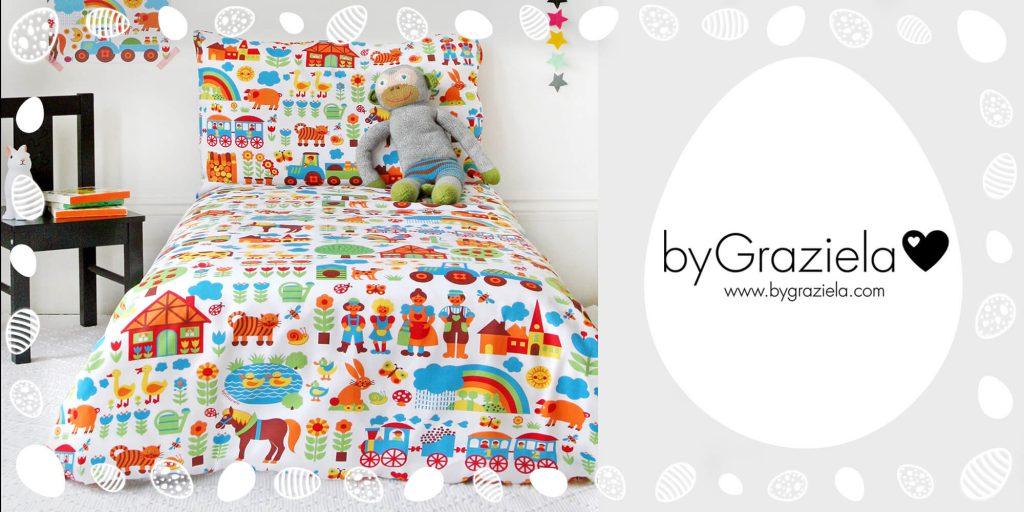 Nina_Naegel vom Shop byGraziela verlost ein Bettwäsche-Set bei der MomPreneurs Ostereiersuche