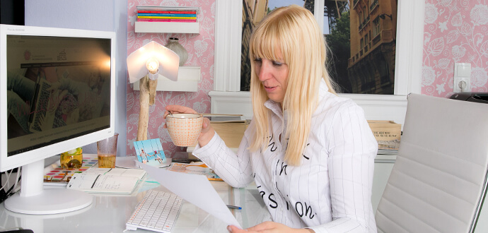 MomPreneurs Corinna Graf GRAFINTERIORS Homeoffice