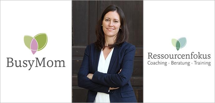 MomPreneurs-Sabine-Machowski-Ressourcenfokus-BusyMom-Logos