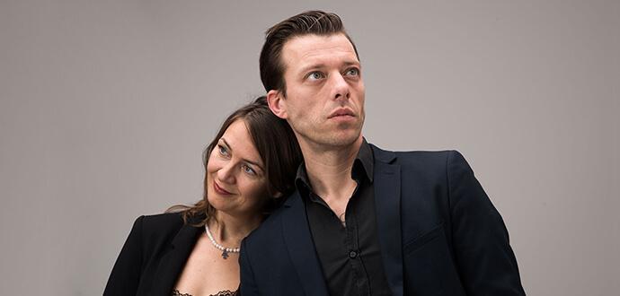 Katja Brunkhorst und ihr Mann