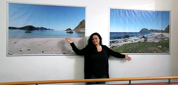 Silke Bauerfeind zeigt Bilder aus Norwegen