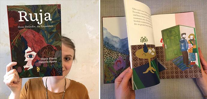 MomPreneurs Marie Franz mit ihrem Kinderbuch Ruja