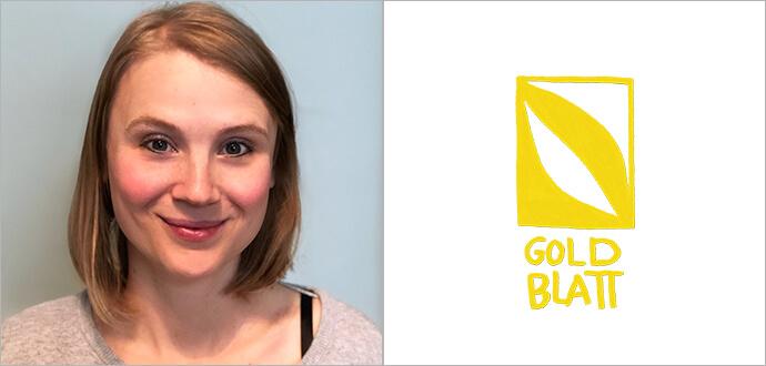 MomPreneurs Marie Franz Goldblatt Verlag Logo