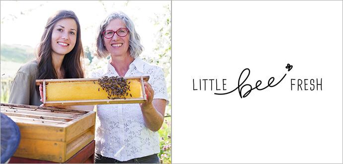 Angelika und Rosemarie Juergens Little Bee Fresh Logo
