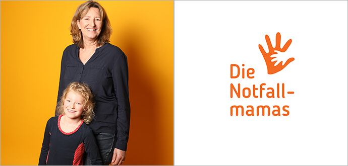 MomPreneurs Angela Schmidt Die Notfallmamas Logo