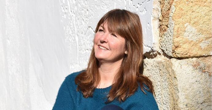 Isa Zoeller in der Sonne