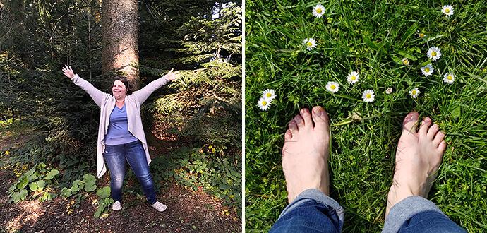 MomPreneurs Andrea Beerbaum in der Natur